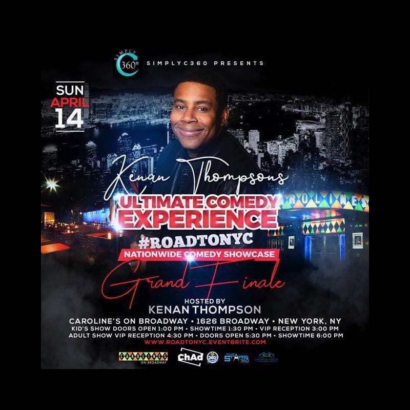 Kenan Thompson's Ultimate Comedy Experience Flyer