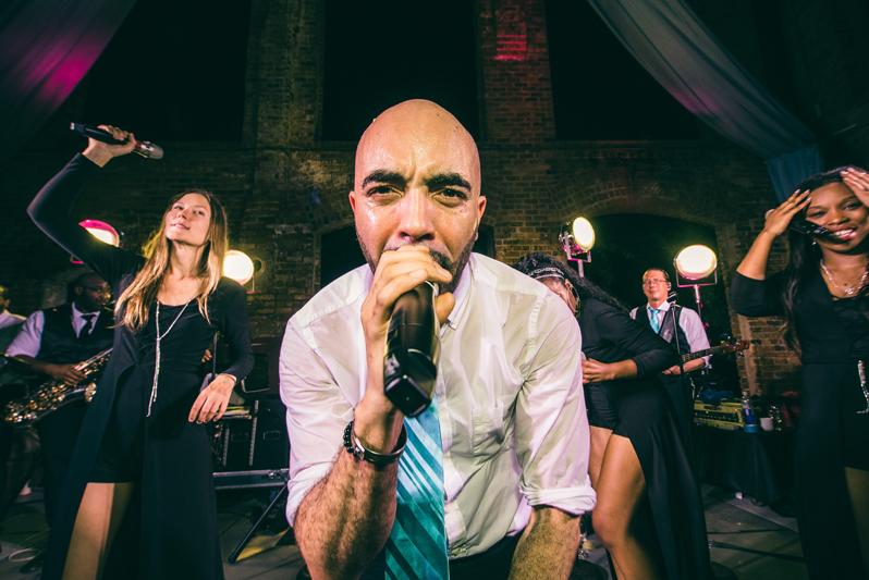 Rhythm Nation wedding band in wyche pavilion