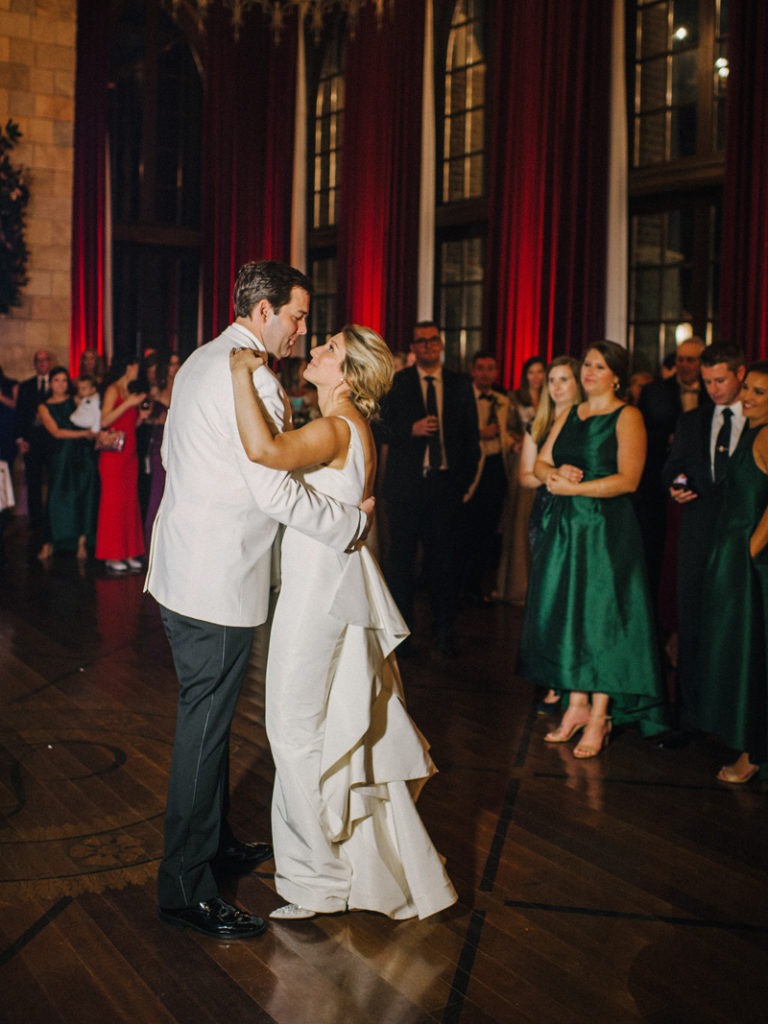 Bride and Groom first dance at Dover Hall wedding