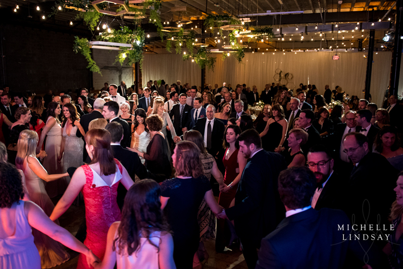 DC wedding guests dancing to Modern Luxe wedding band