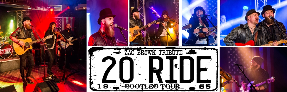 Image of 20 Ride - Zac Brown Tribute